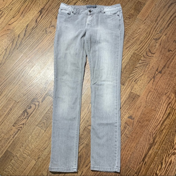 Zara Basic Jeans wear light gray size 8